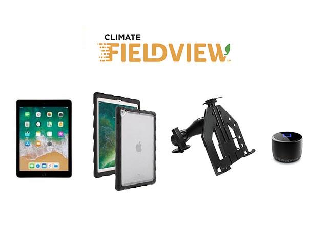 KIT: Tablet + Kit de Suporte + Capa Gumdrop + Climate FieldView Drive
