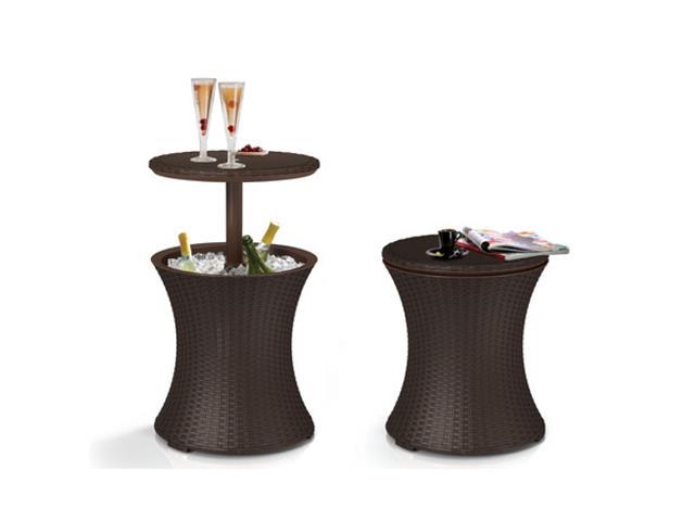 Cool Bar Keter Rattan Marrom - 1