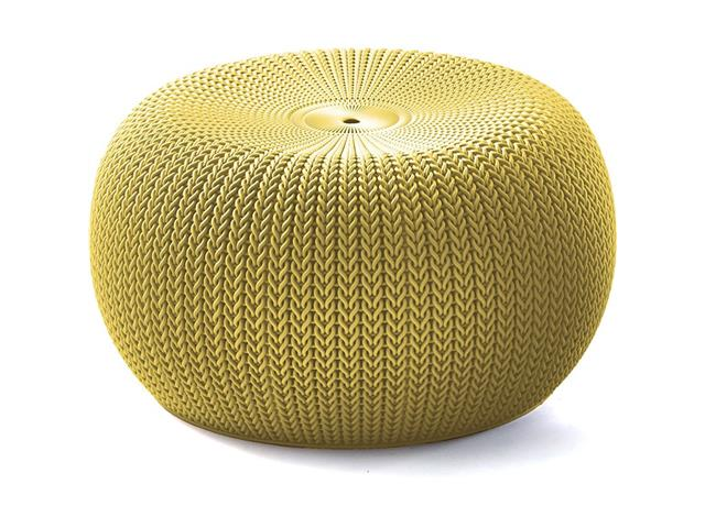 Puff Keter Cozy Seat Amarelo