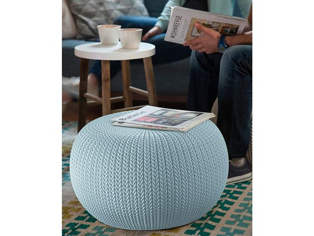 Puff Keter Cozy Seat Azul - 1