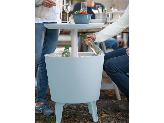 Cool Bar Keter Rattan Branco - 1