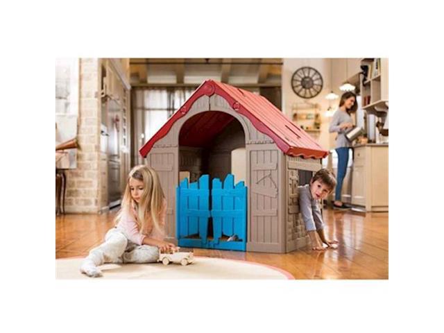 Casinha de Brinquedo Infantil Keter Wonderfold Dobrável - 1