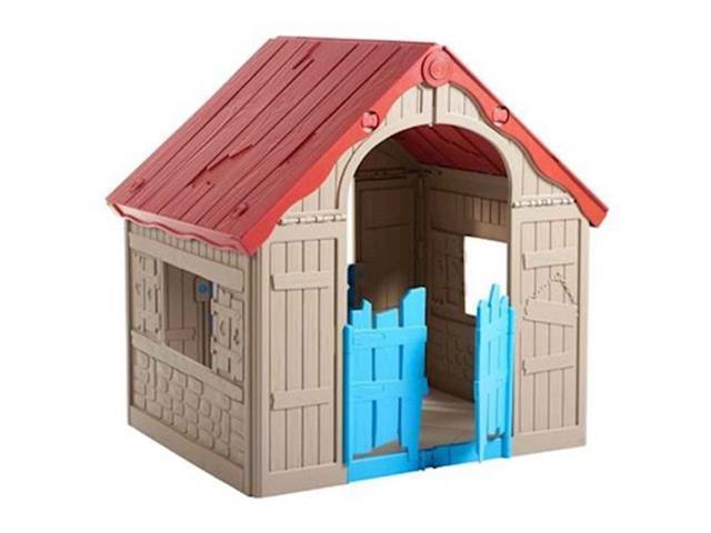 Casinha de Brinquedo Infantil Keter Wonderfold Dobrável