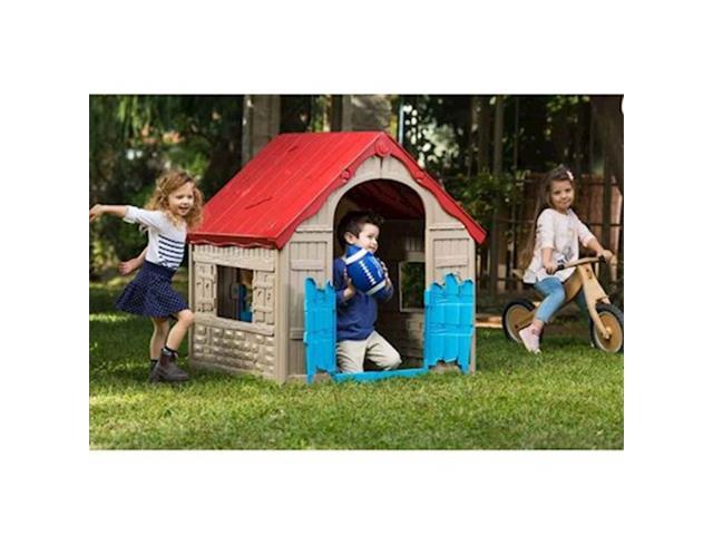 Casinha de Brinquedo Infantil Keter Wonderfold Dobrável - 2