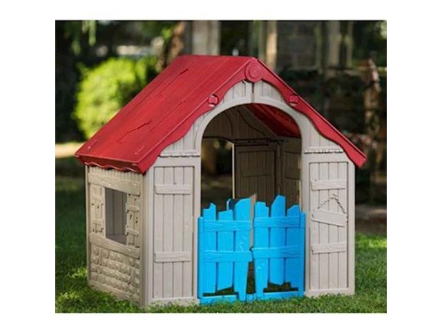 Casinha de Brinquedo Infantil Keter Wonderfold Dobrável - 3