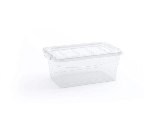 Caixa Organizadora Curver Omni Box Transparent 11 Litros