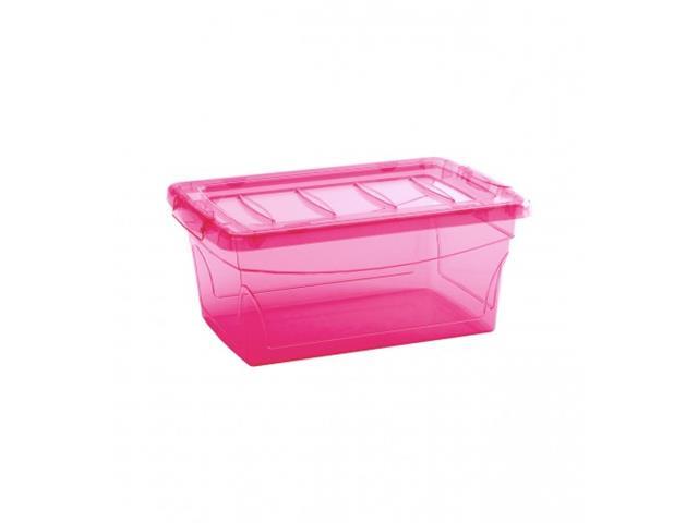 Caixa Organizadora Curver Omni Box Pink 11 Litros