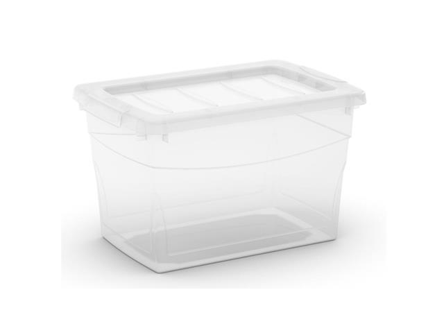 Caixa Organizadora Curver Omni Box Transparent 16 Litros