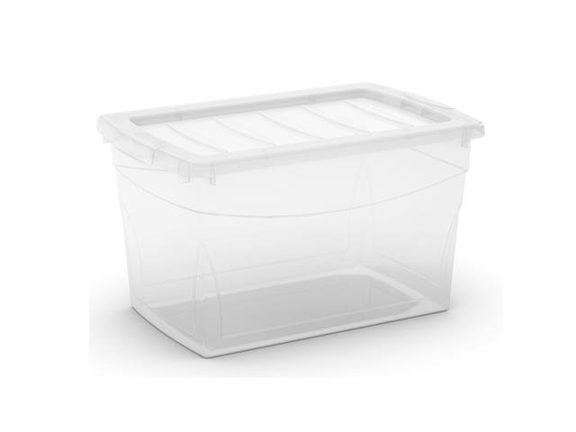 Caixa Organizadora Curver Omni Box Transparent 29 Litros
