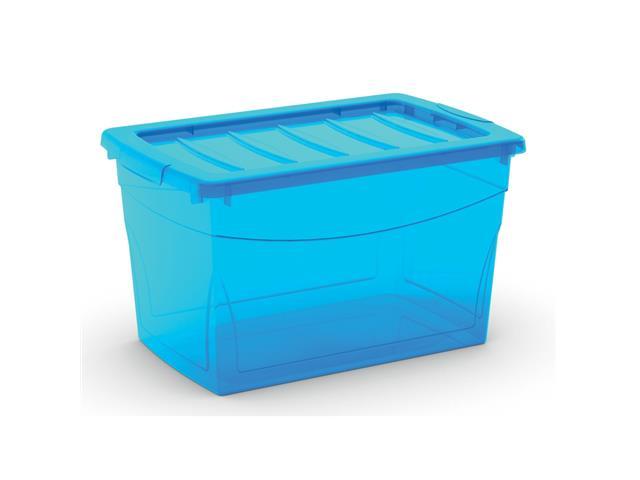 Caixa Organizadora Curver Omni Box Blue 29 Litros