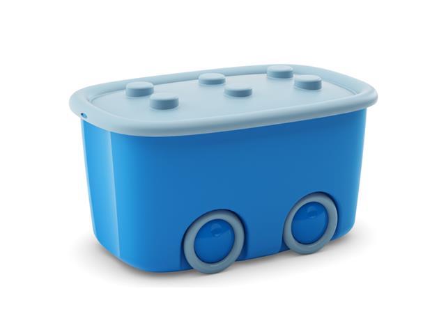 Caixa Organizadora Curver Funny Box Blue 46 Litros