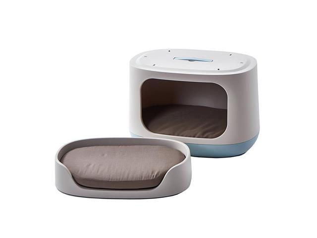 Cama Puff Bunkbed Pet Curver Sandy com Almofada e Transporte - 2