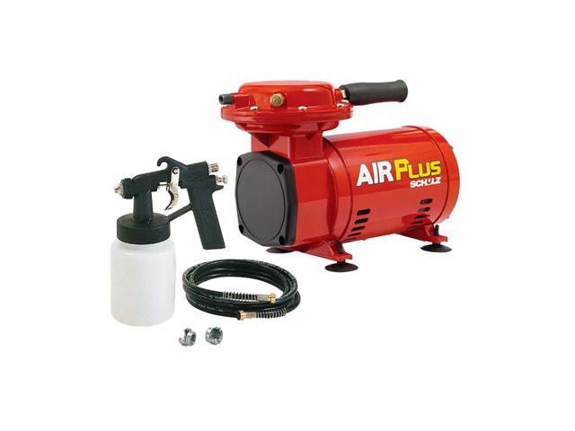Compressor de Ar Schulz Air Plus Ms 2,3 com Kit Pintura Bivolt - 2