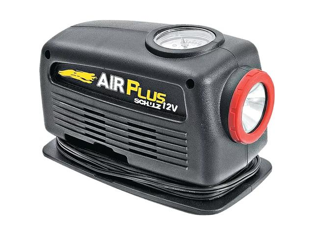 Motocompressor de Ar Schulz Air Plus com Lanterna 12V - 1