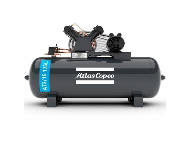 Compressor Pistão AT3/15 175L 110/220V 1F IP21 60HZ 140PSI V