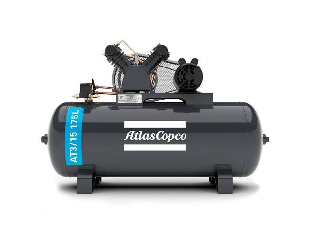 Compressor Pistão AT3/15 175L 220/380V 3F IP21 60HZ 140PSI V