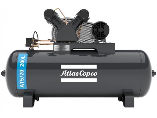 Compressor Pistão AT5/20 200L 220/380V 3F IP21 60HZ 140PSI V