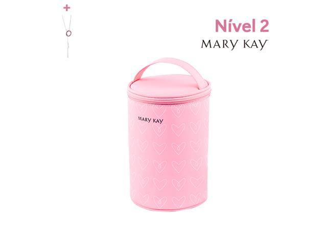 Necessaire Tubo Mary Kay + Prêmios de níveis anteriores