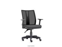 Cadeira Addit Operacional Cinza Rodízio Piso Duro - 0