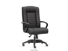 Cadeira New Onix Class Presidente Preta Rodízio Carpete - 0