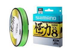 Linha Multifilamento Shimano Kairiki PE 40LB (0.28mm) X 300m Verde - 0