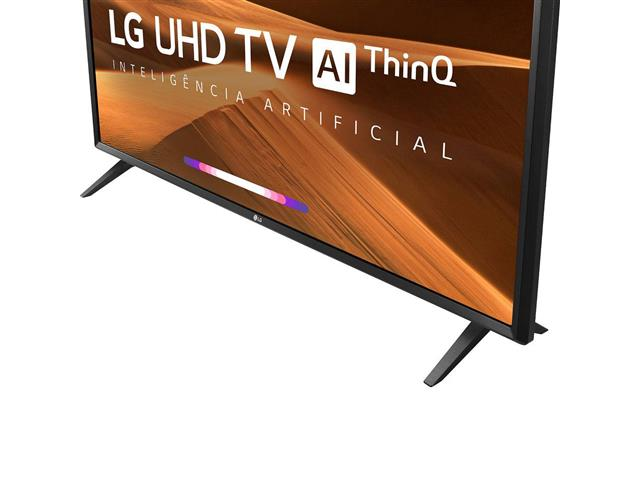 "Smart TV LED 49"" LG UHD 4K ThinQ AI TV HDR webOS 4.5 Wi-Fi 3HDMI 2USB - 5"