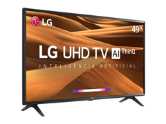 "Smart TV LED 49"" LG UHD 4K ThinQ AI TV HDR webOS 4.5 Wi-Fi 3HDMI 2USB - 2"