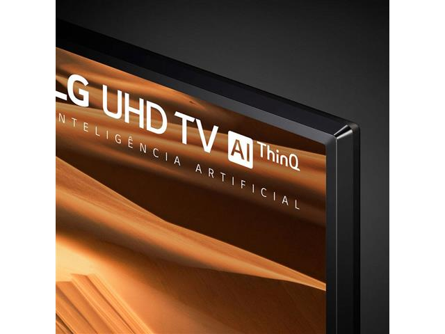 "Smart TV LED 49"" LG UHD 4K ThinQ AI TV HDR webOS 4.5 Wi-Fi 3HDMI 2USB - 6"