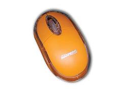 Mouse Maxprint Colors Laranja USB