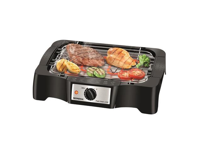 Churrasqueira Elétrica Mondial Pratic Steak & Grill – CH-07 com Controle de Temperatura - 220V - 2