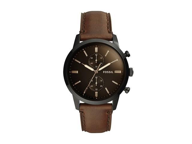 Relógio Fossil Townsman FS5437/0MN Marrom Analógico Masculino