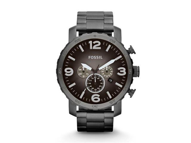 Relógio Fossil JR1437/4PN Grafite Cronógrafo Masculino