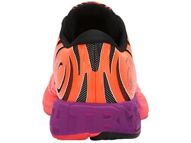 Tênis Asics Noosa Ff 2 Flash Coral/Black/Shocking Orange Feminino - 4
