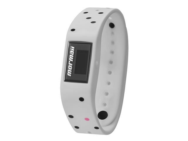 Relógio Mormaii Fit Digital MOBO3965/8C Troca Pulseira Branco e Roxo - 1