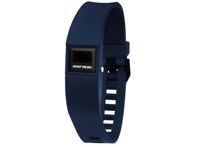 Relógio Mormaii Fit Digital MOBO3968/8M Troca Pulseira Marrom e Azul - 1