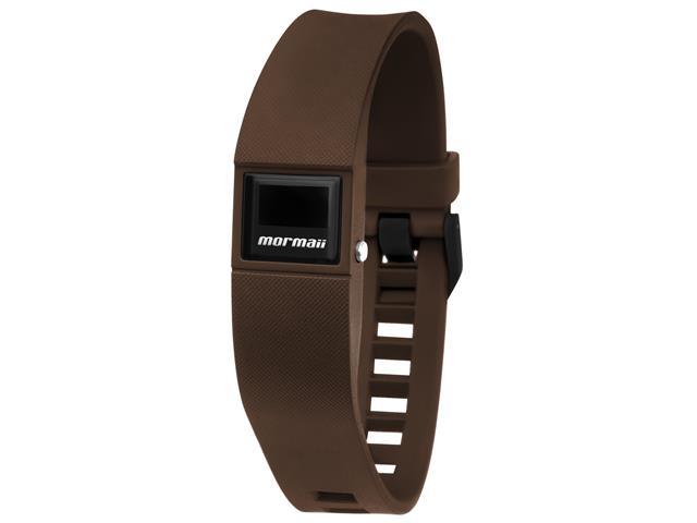 Relógio Mormaii Fit Digital MOBO3968/8M Troca Pulseira Marrom e Azul - 2