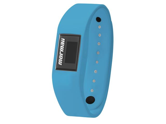 Relógio Mormaii Fit Digital MOBO4084/8A Troca Pulseira Preto e Azul - 2