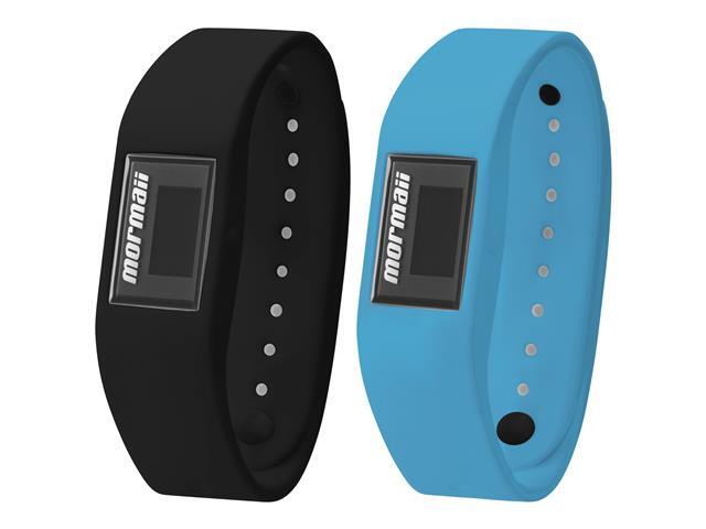 Relógio Mormaii Fit Digital MOBO4084/8A Troca Pulseira Preto e Azul