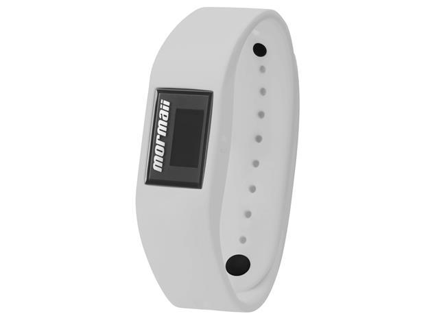Relógio Mormaii Fit Digital MOBO4139/8P Troca Pulseira Preto e Branco - 2