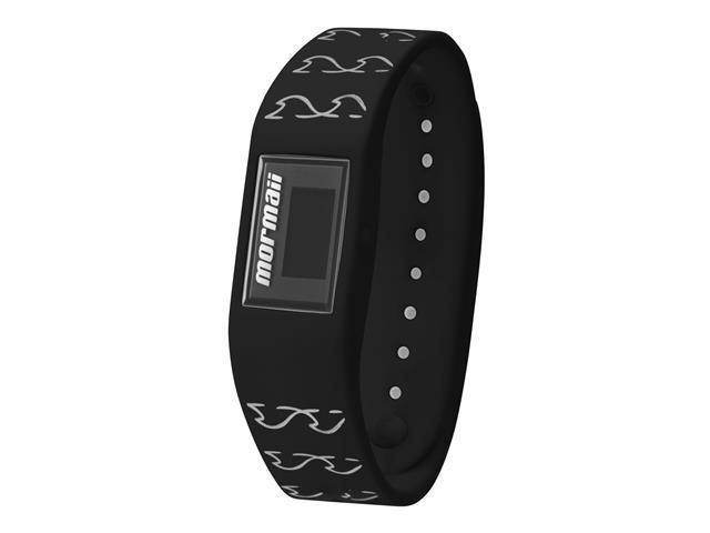 Relógio Mormaii Fit Digital MOBO4139/8P Troca Pulseira Preto e Branco - 1