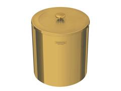 Lixeira Tramontina Útil em Inox Polido com Revestimento Gold 5 Litros