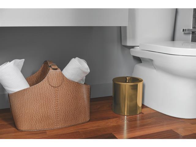 Lixeira Tramontina Útil em Inox Polido com Revestimento Gold 5 Litros - 2