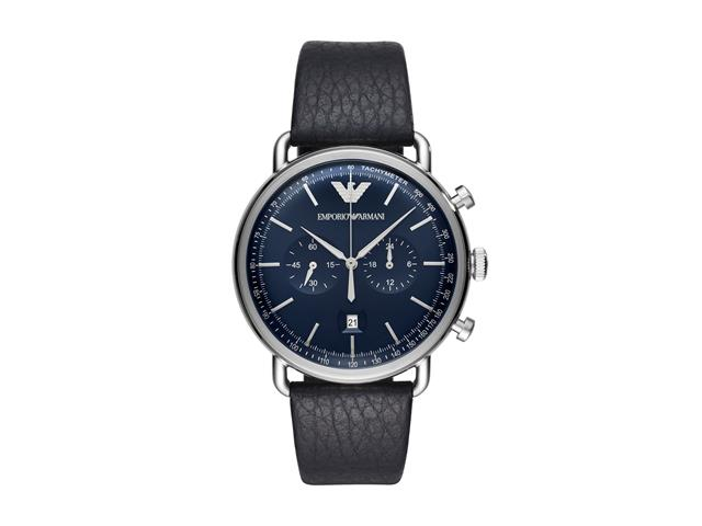 Relógio Emporio Armani Masculino AR11105/0AN Prata Analógico