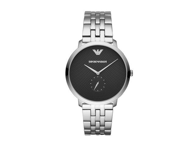 Relógio Emporio Armani Masculino AR11161/1KN Prata Analógico