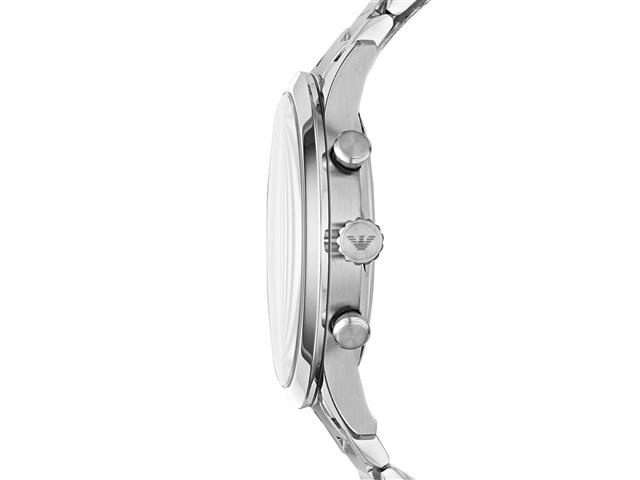Relógio Emporio Armani Masculino AR11208/1KN Prata Analógico - 1