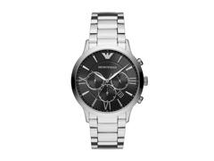 Relógio Emporio Armani Masculino AR11208/1KN Prata Analógico - 0