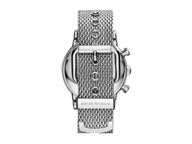 Relógio Emporio Armani Masculino AR1808/1PN Prata Analógico - 2