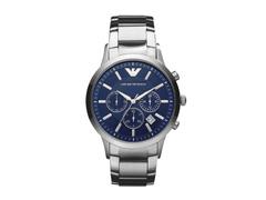 Relógio Emporio Armani Masculino AR2448/1AN Prata Analógico