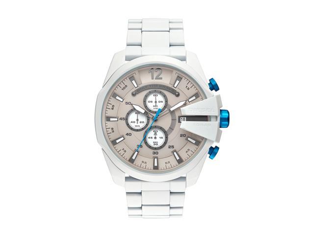 Relógio Diesel Masculino DZ4502/1BN Branco Analógico