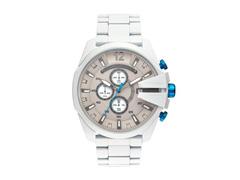 Relógio Diesel Masculino DZ4502/1BN Branco Analógico - 0